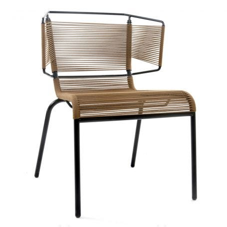 Fifty Dining Chair In Tabac - Angle View