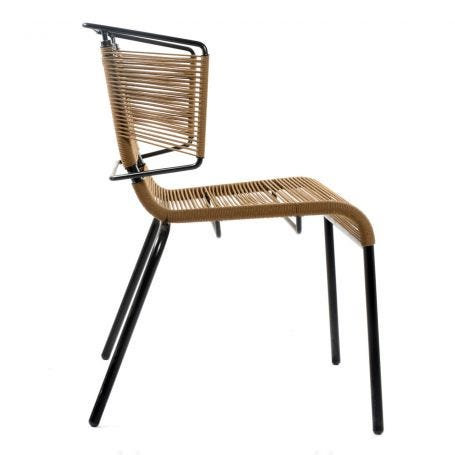 Fifty Dining Chair In Tabac