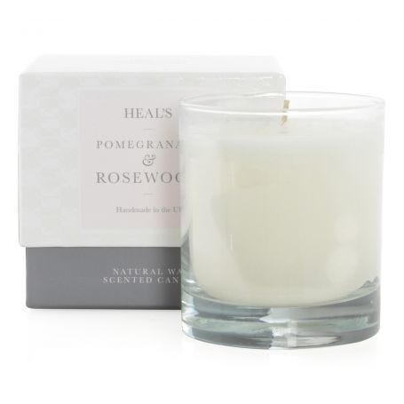 Pomegranate & Rosewood Scented Candle