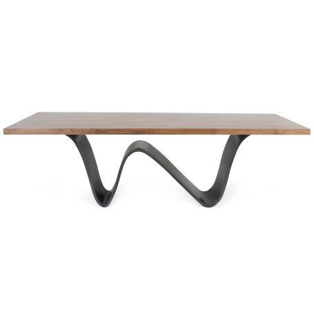 Bree E Onda Table 8-10 Seater Walnut