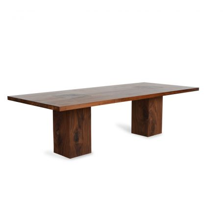 Boss Executive Table 8-10 Seater Walnut