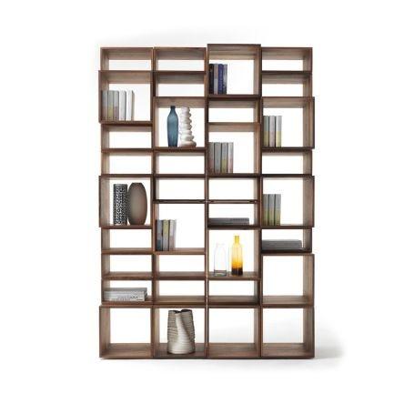 Freedom Project 4 Bookshelf Walnut