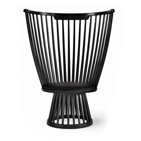 Fan Chair Black