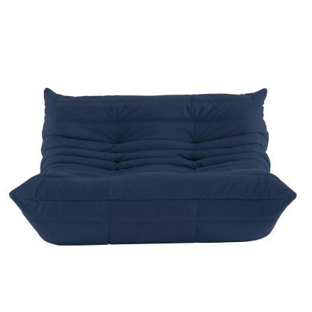 Togo 2 Seater Sofa Alcantara Powder Blue