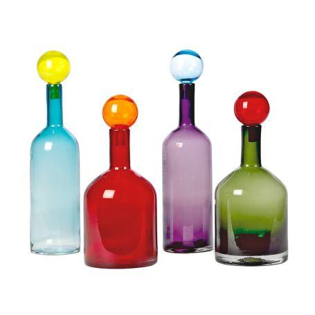Bubbles & Bottles Set Of 4