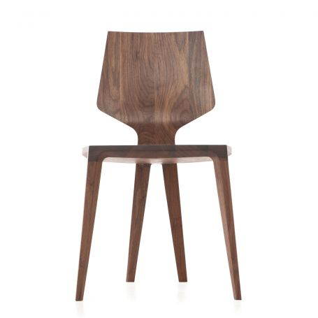 Mary's Chair in Walnut - Front View