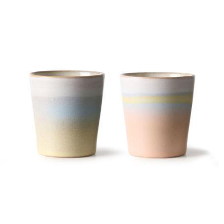 70���S Ceramic Mug Horizon Set Of 2