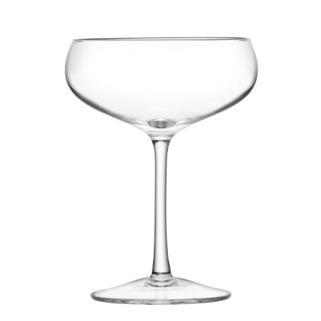 Wine Champagne Saucer 300ml Clear Set Of 4