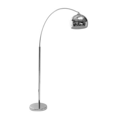Heal's Mini Lounge Floor Lamp Chrome