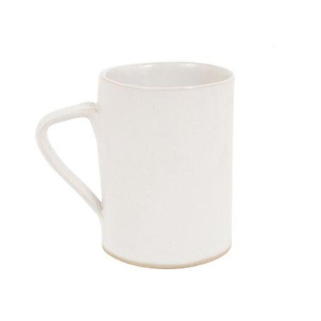 White Glaze Mug