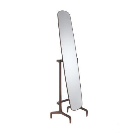 Timothy Floor Mirror Walnut