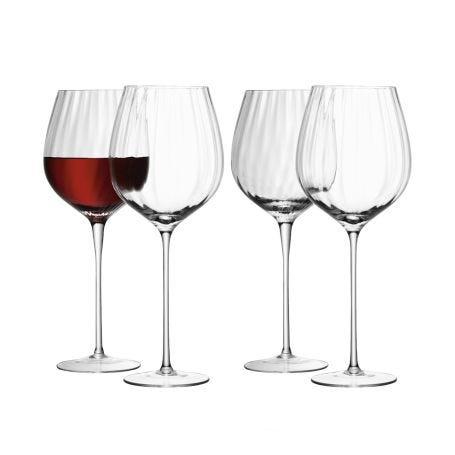Aurelia Red Wine Glasses Set Of 4