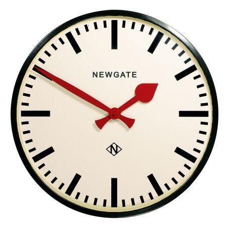 Putney Black Wall Clock