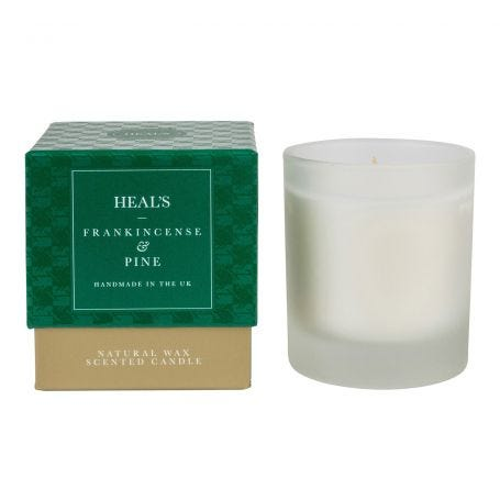 Frankincense & Pine Scented Candle