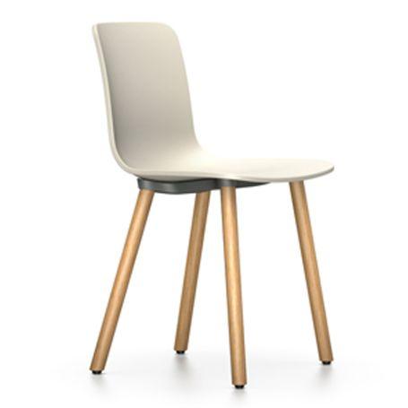 Hal Wood Chair 31 Warm Grey Light Oak Legs