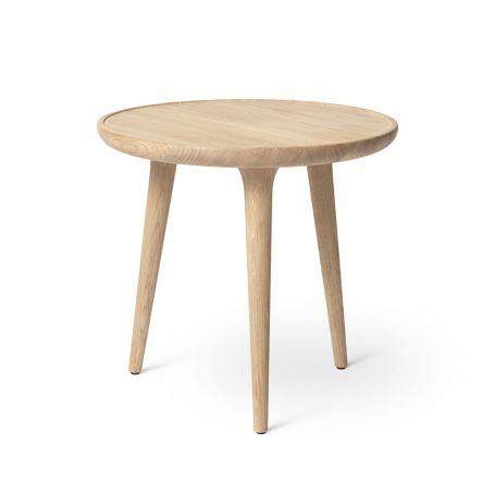 Accent Side Table Matt Lacquered Oak