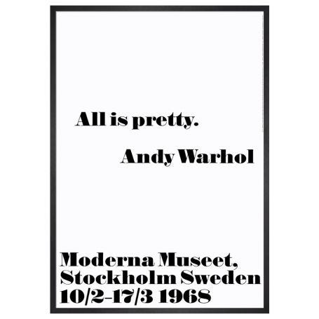 All Is Pretty by Andy Warhol Framed Print