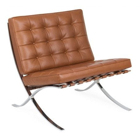 Barcelona Relax Chair Venezia Cognac Leather