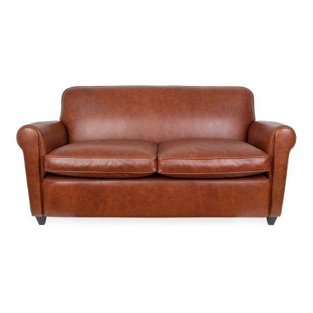 Barrington II 2-Seater Sofa Tan Leather