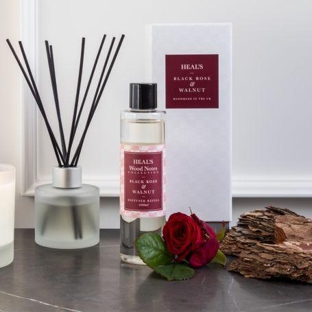 Black Rose & Walnut Natural Reed Diffuser