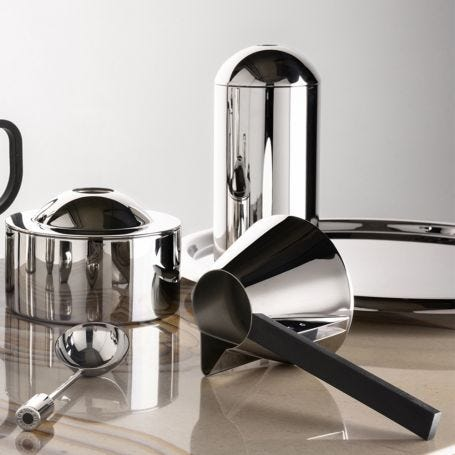 Brew Coffee Caddy Stainless Steel
