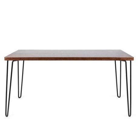 Brunel Dining Table Dark Wood