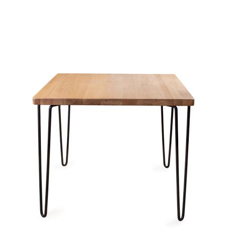 Brunel Dining Table Square Oak