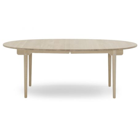 CH338 Extending Dining Table Soaped Oak