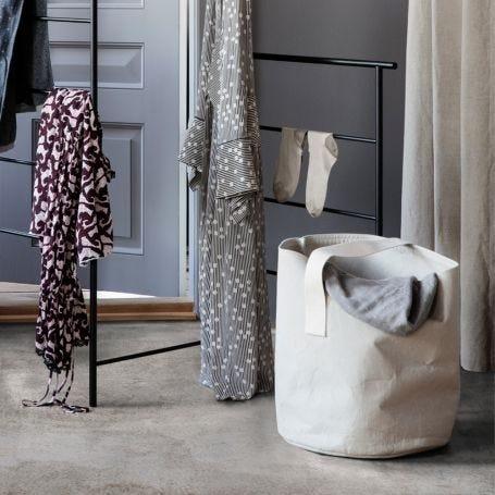 Chambray Laundry/Storage Basket
