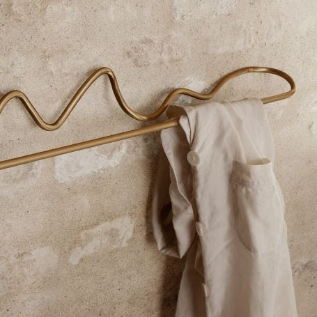 Curvature Wall Mounted Towel Hanger