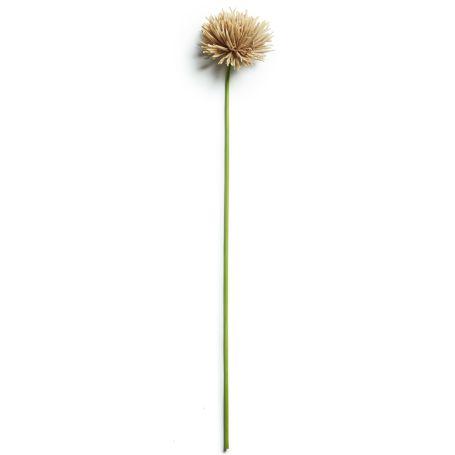 Dahlia Taupe Faux Flower
