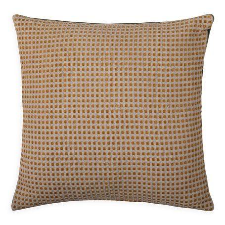 Duo Cushion Sage/Saffron 45cm X 45cm