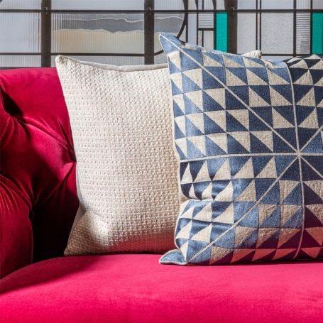 Duo Cushion Dove/Petal 45 x 45cm