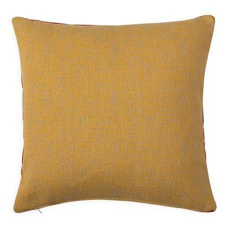 Duo Cushion Terracotta/Ochre 45cm x 45cm
