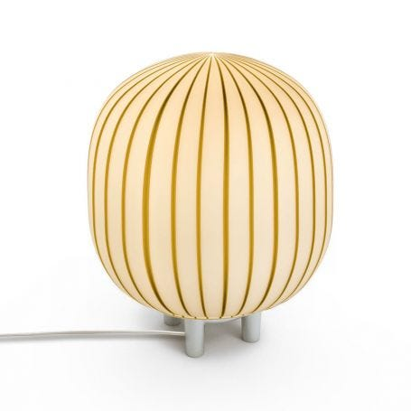 Filigrana T2 Cylinder Table Lamp White Tobacco