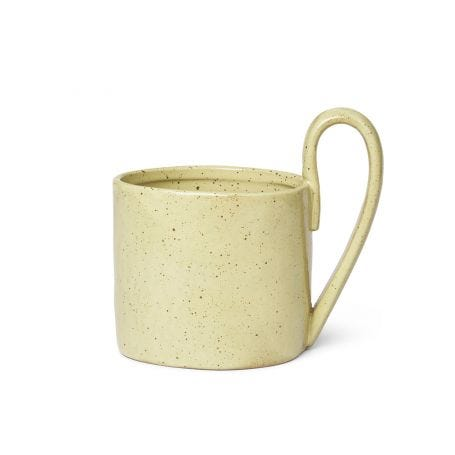 Flow Mug Yellow Speckle