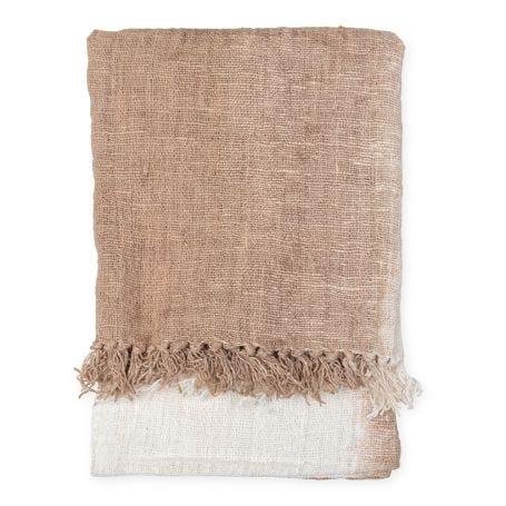 Handwoven Cotton Gradient Throw