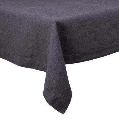 Heal's Linen Tablecloth Slate