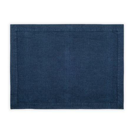 Heal's Linen Placemat Midnight Blue