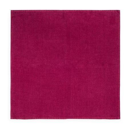 Heal's Linen Napkin Wine Red