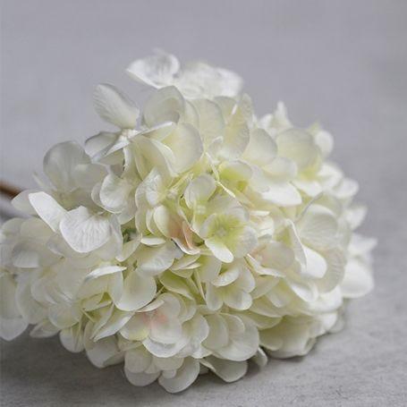 Hydrangea Blanc Faux Flower