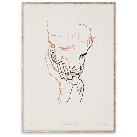 I Think Not 02 by Børge Bredenbekk 30 x 40cm Print