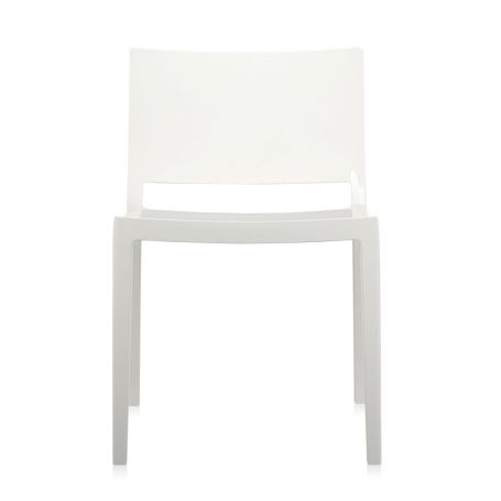 Lizz Chair in White - Front View