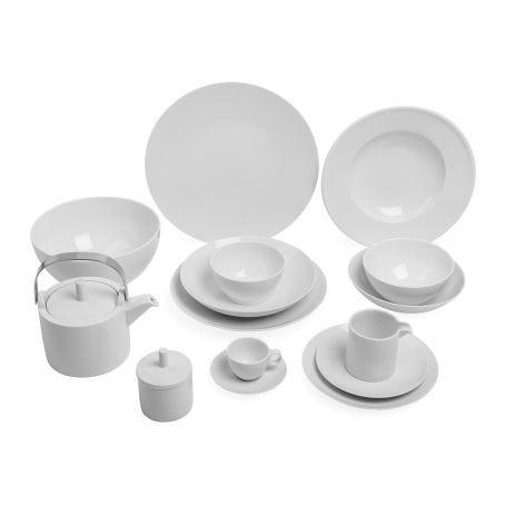 Thomas Loft White Porcelain Dinnerware