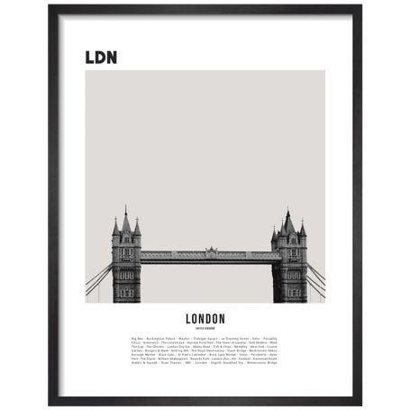 London II by WK Fox Art Framed Print