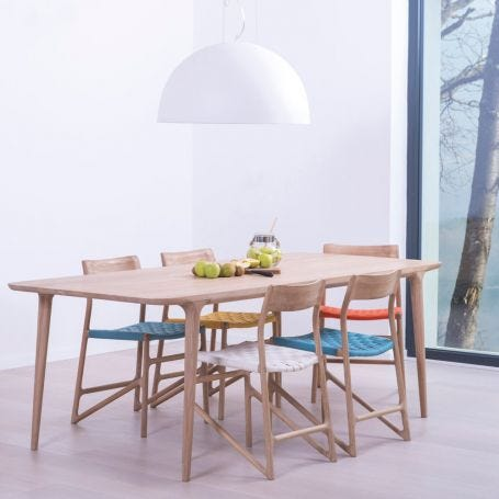 Fawn Dining Table Oak