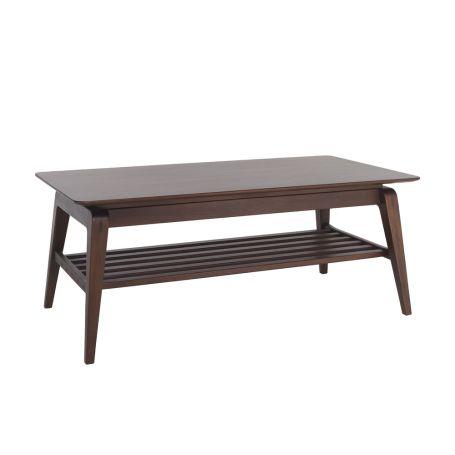 Lugo Coffee Table Dark Tulipwood