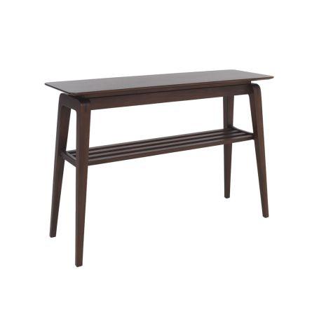 Lugo Console Table Dark Tulipwood