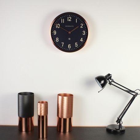 Master Edwards Wall Clock Copper