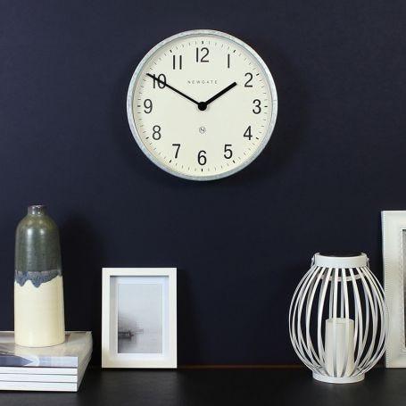 Master Edwards Wall Clock Galvanised